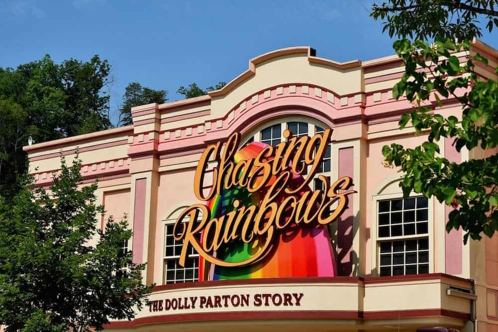 chasing rainbows museum in pigeon forge