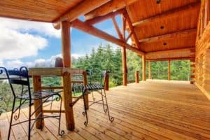 Pigeon Forge vacaiton cabin rentals with mountain view