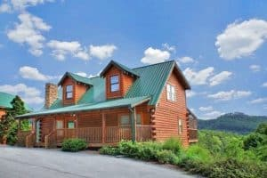 Hollywood in the Hills, one of our vacation rental cabins in Pigeon Forge TN.