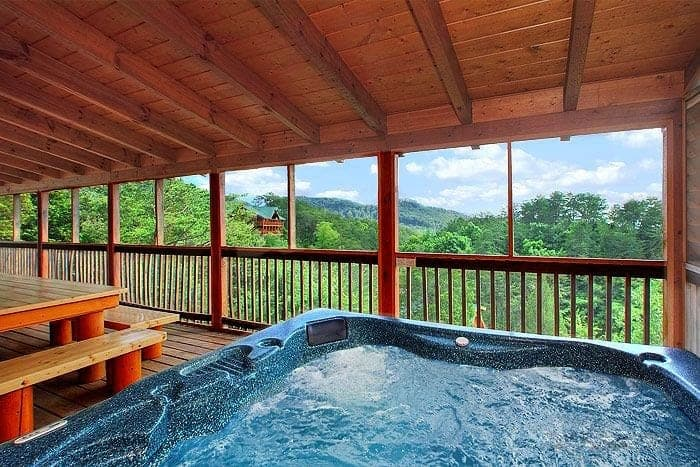 Experience the newest attractions in gatlinburg tn this for Cabin in gatlinburg with hot tub