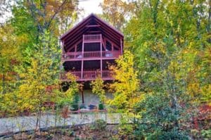 The Top Notch cabin near Pigeon Forge.