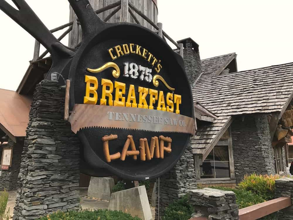 Crocketts Sign
