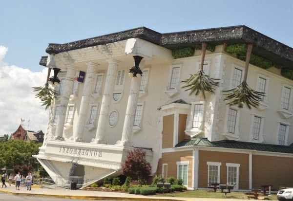 WonderWorks in Pigeon Forge TN.