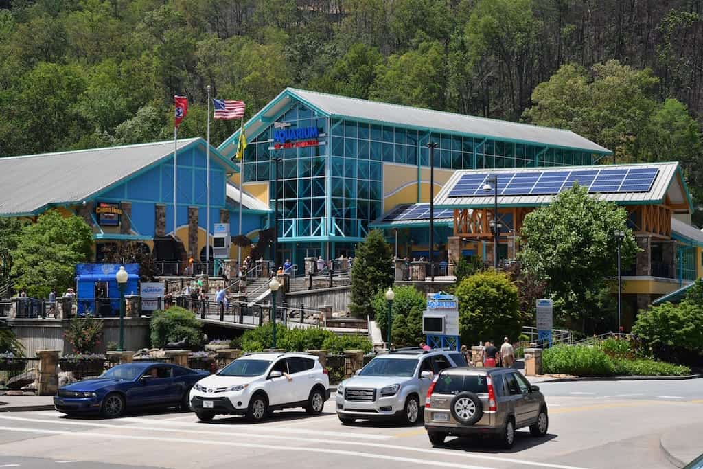 Ripley's Aquarium in Gatlinburg