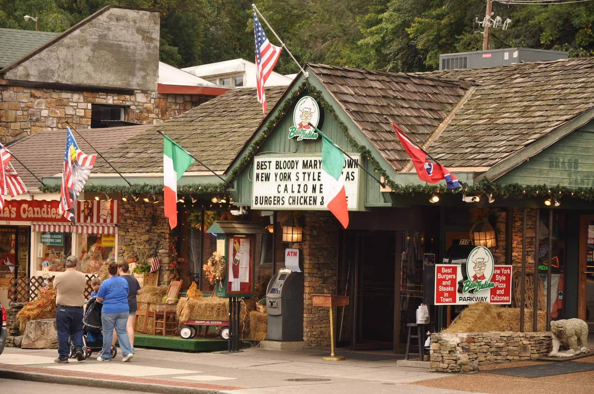Best Italian Gatlinburg restaurant