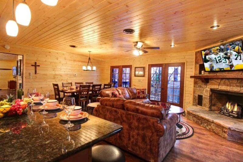 Mountain Majesty cabin in the Smoky Mountains