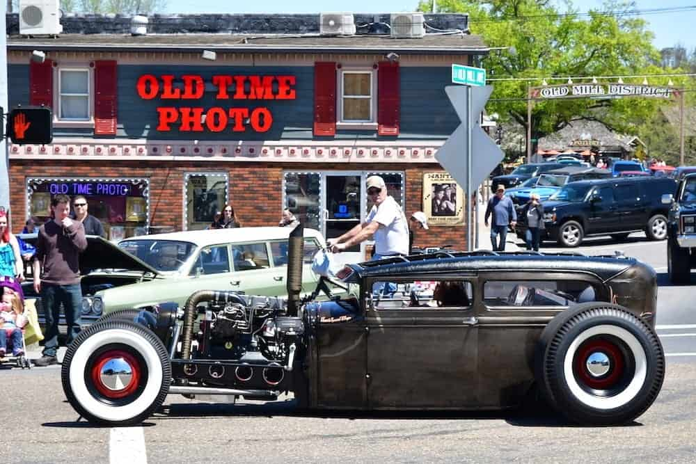 old time photos in pigeon forge