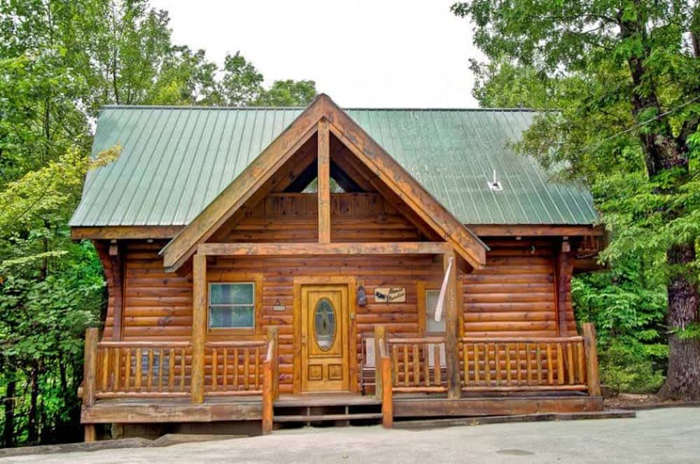 one of the 1 bedroom cabins in sevierville