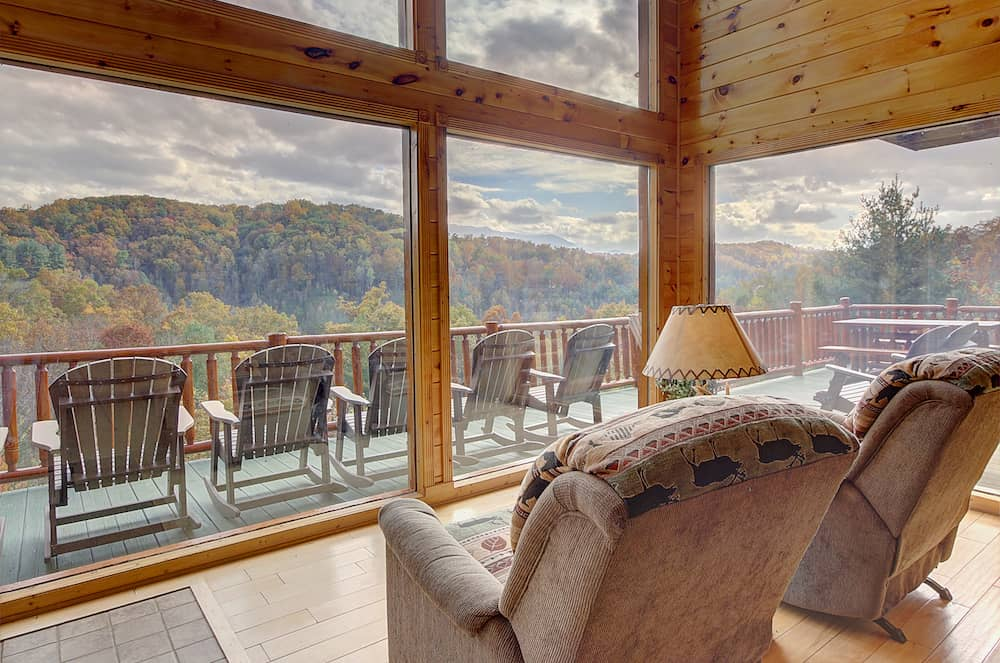 recliner view of mountains
